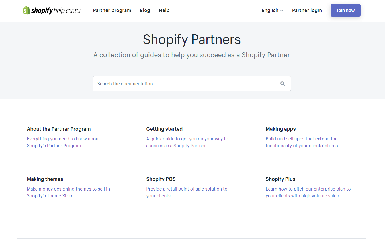 shopify partner resources