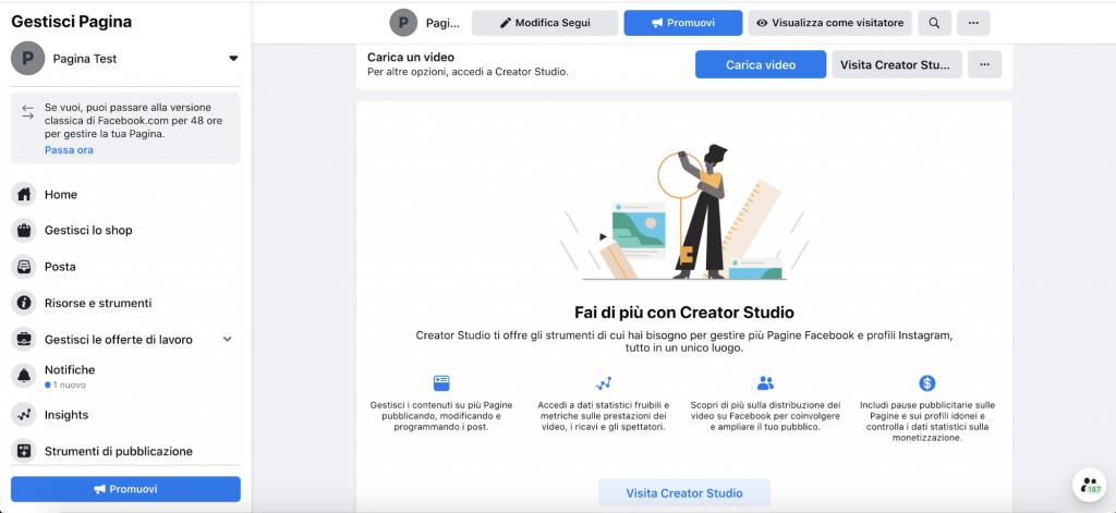 facebook creator studio