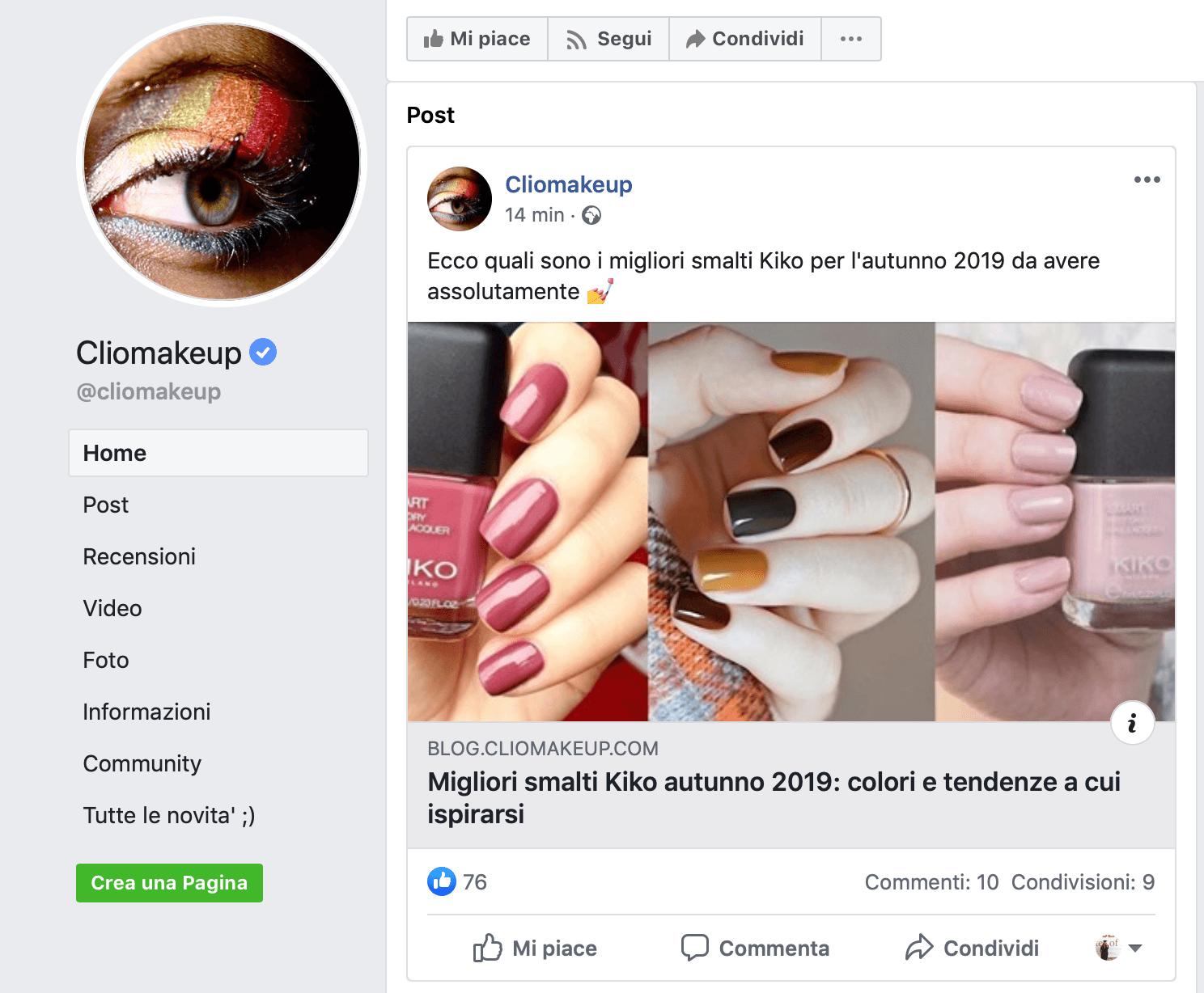 Influencer marketing su Facebook
