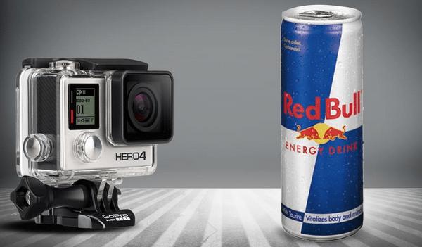 GoPro e Red Bull