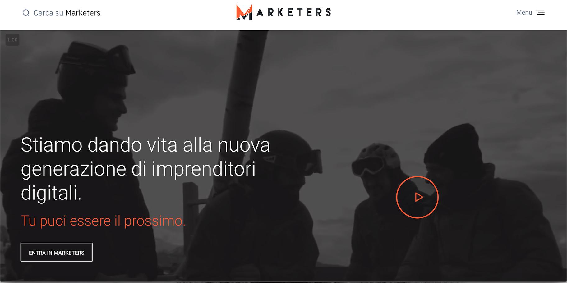 marketers.media secondo lavoro