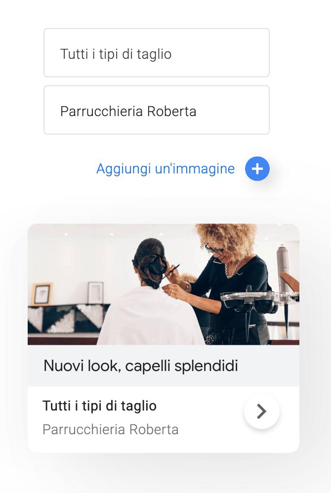 annuncio su google