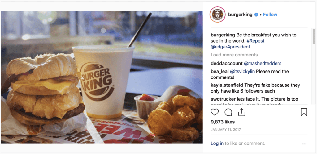 Guerilla Marketing Burger King