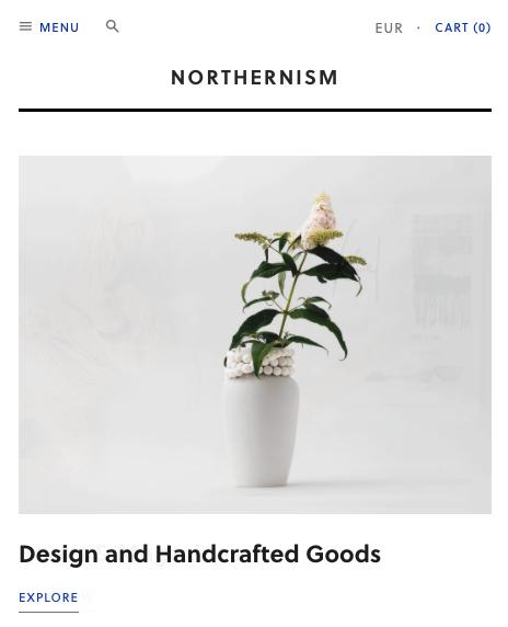 site design minimaliste
