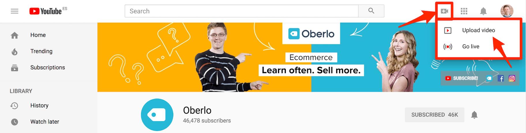 Télécharger vidéo YouTube Ad