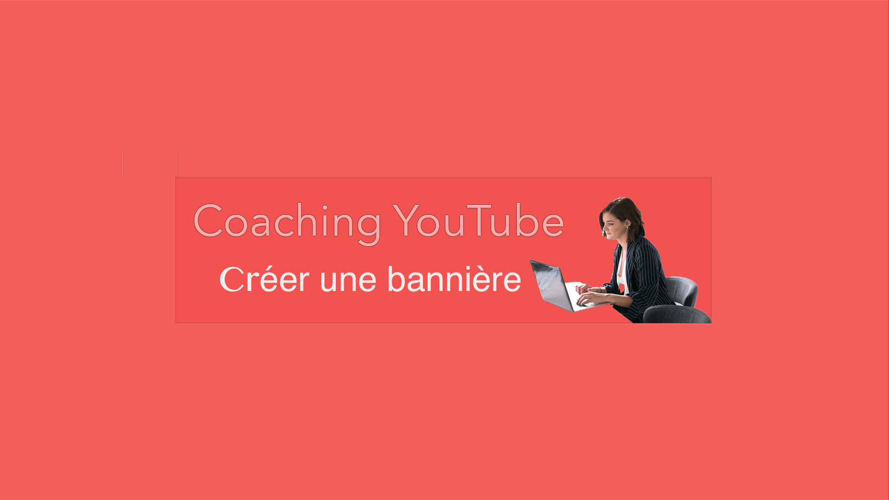 Bannière YouTube sur Photoshop