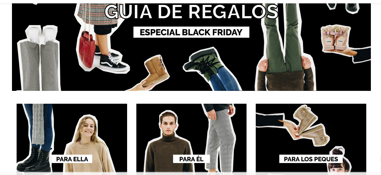 ideas para el black friday