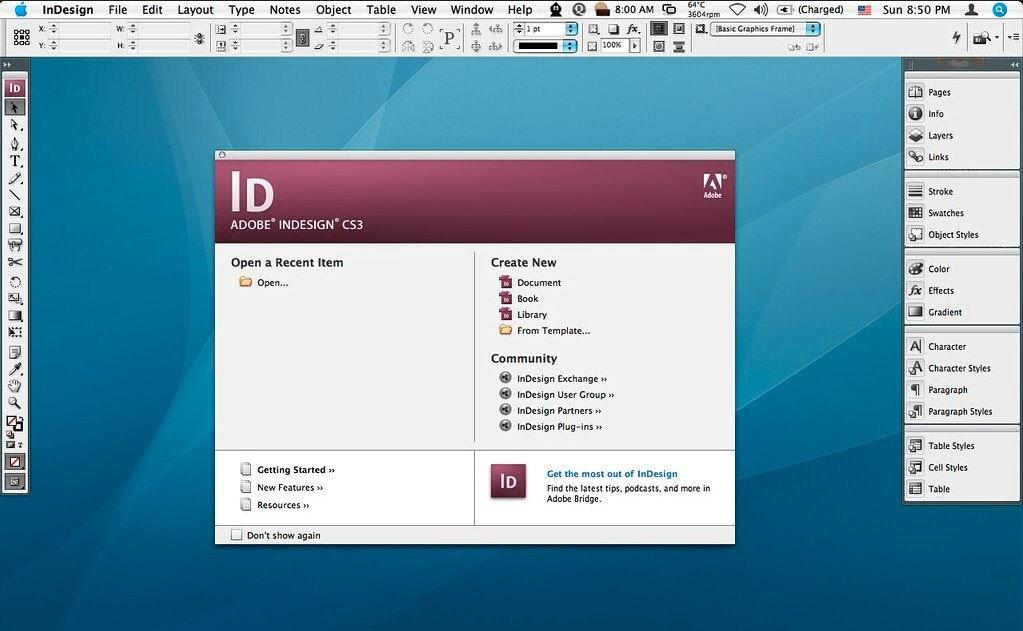 Adobe InDesign: programma per la stampa e l'editoria
