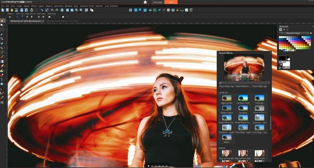 PaintShop Pro: programmi di grafica professionali