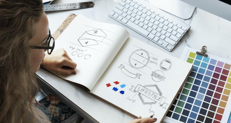 criando logotipo com freelancer