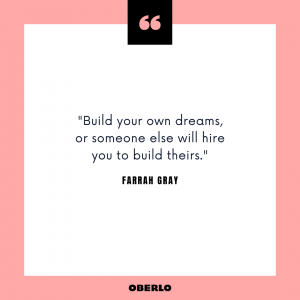How to Be Your Own Boss: Farrah Gray Quote