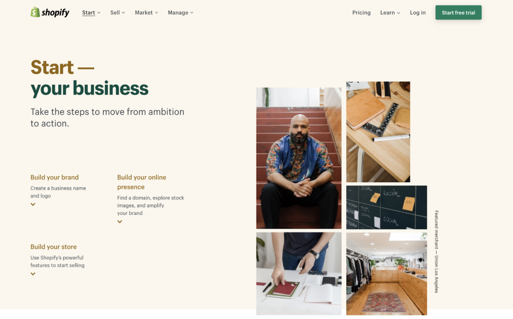 Be Your Own Boss Ideas: Sell Products on Shopify