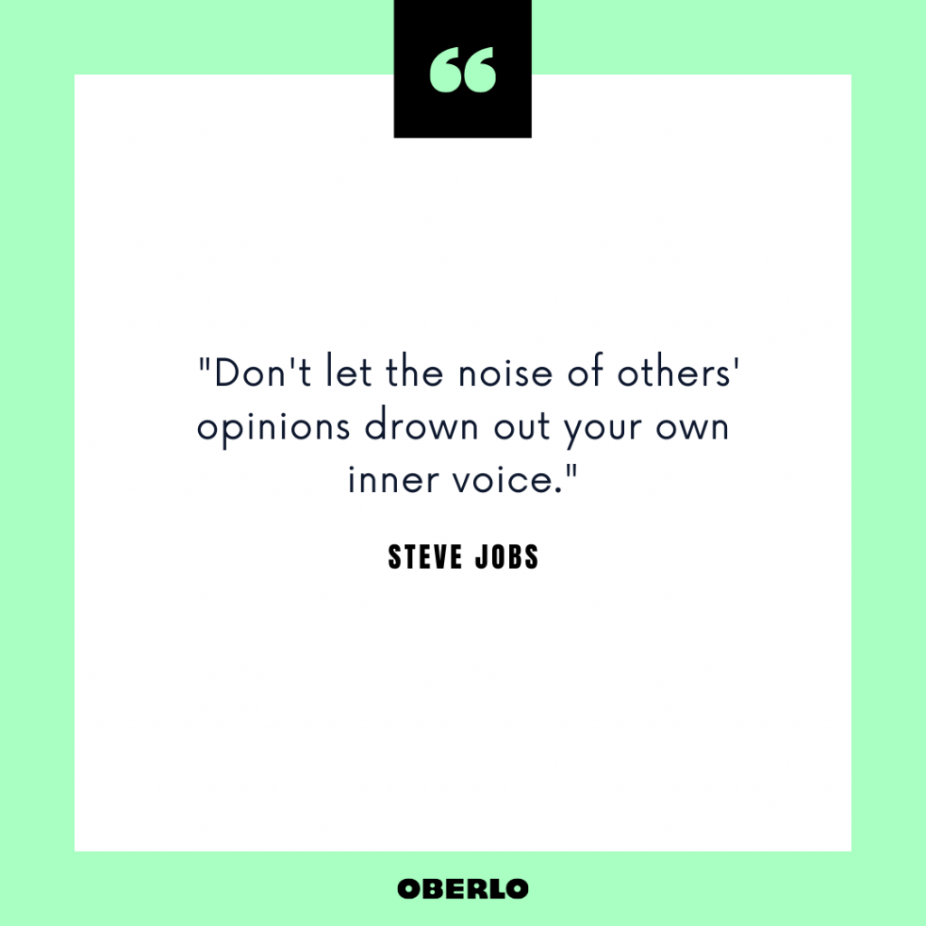 Entrepreneurial Mindset: Steve Jobs Quote