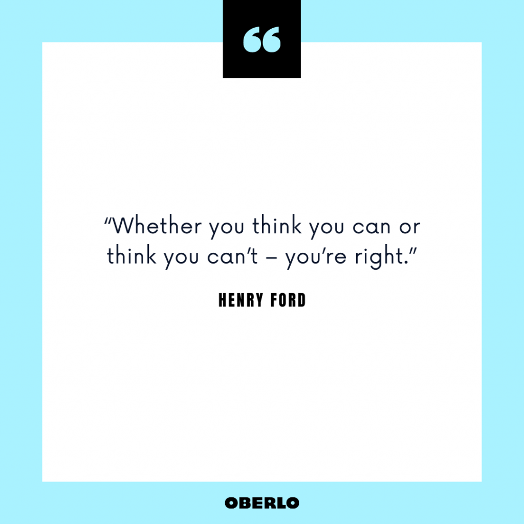 Entrepreneurial Mindset: Henry Ford Quote