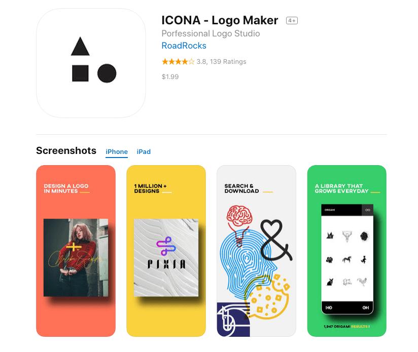 appli creation design de logo