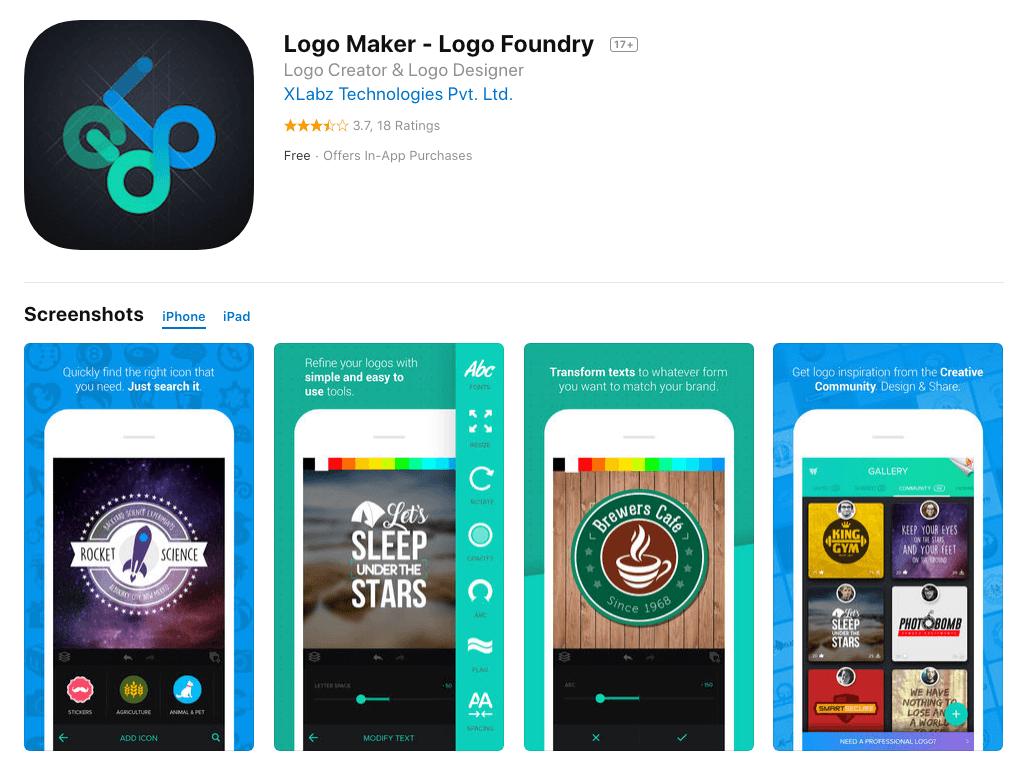 application design logo