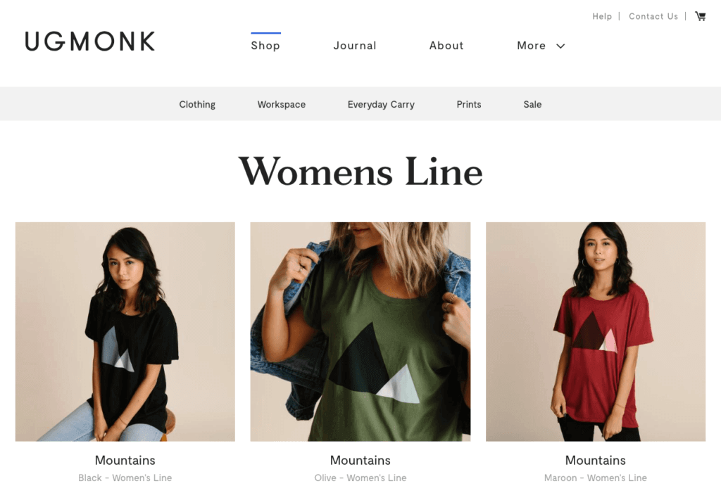 Ugmonk Clothes
