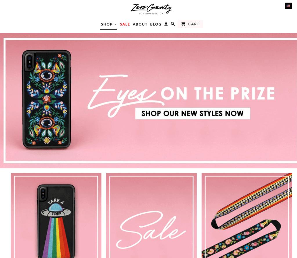 ZeroGravity Shopify Store