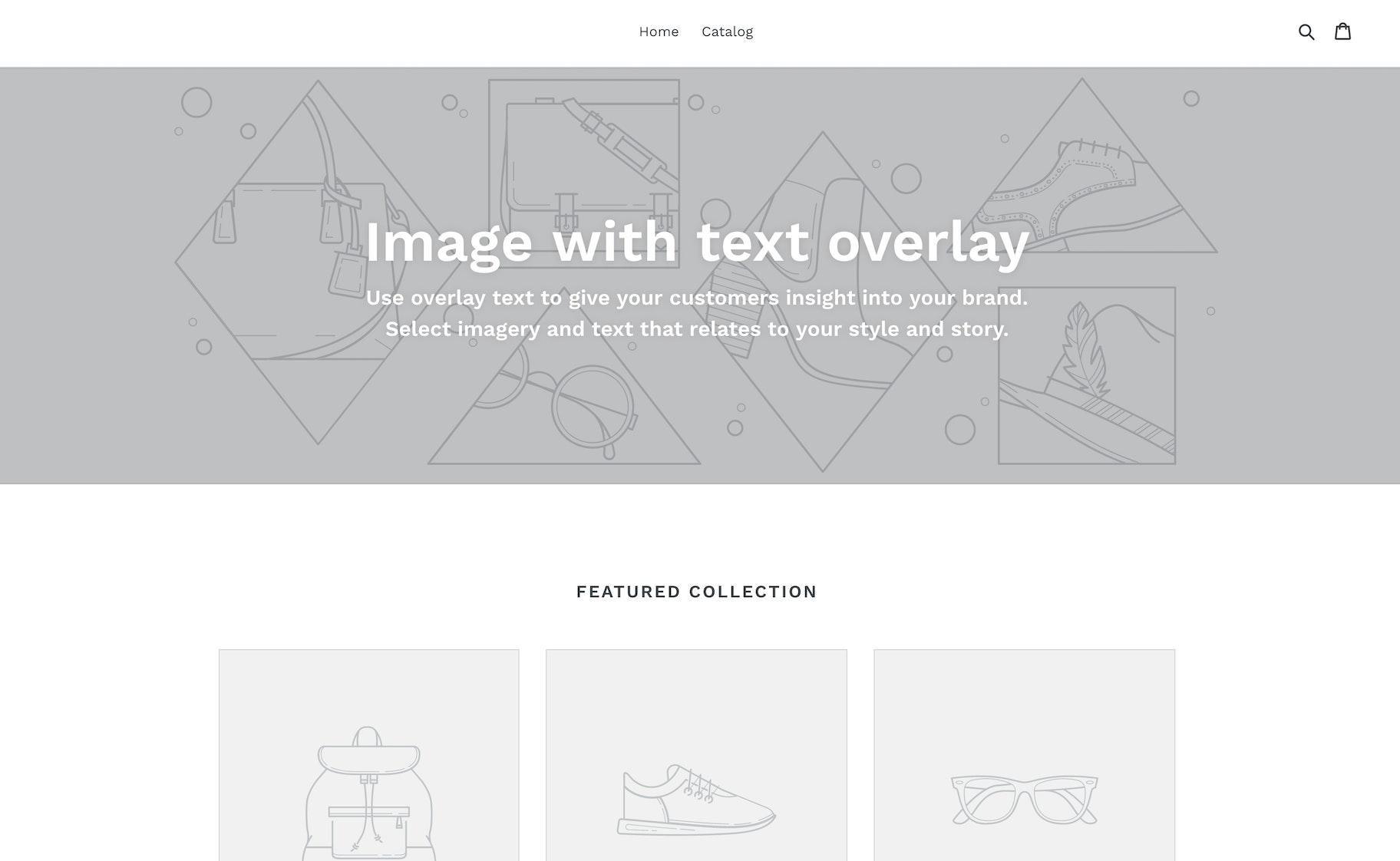 New Theme - Debut Shopify
