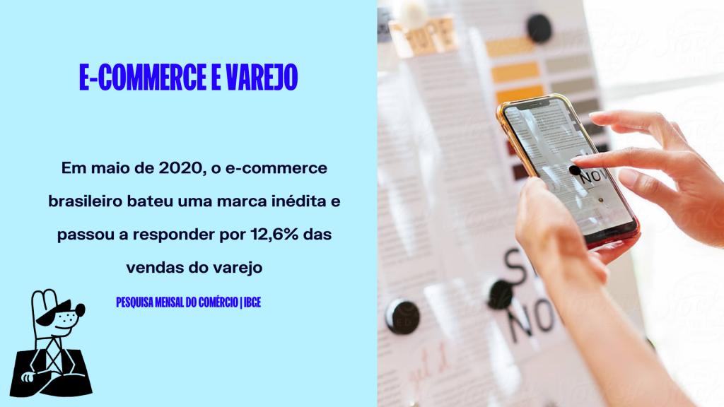 Estatística sobre e-commerce no Brasil #2: Comércio eletrônico no Brasil responde por 12,6% das vendas do varejo