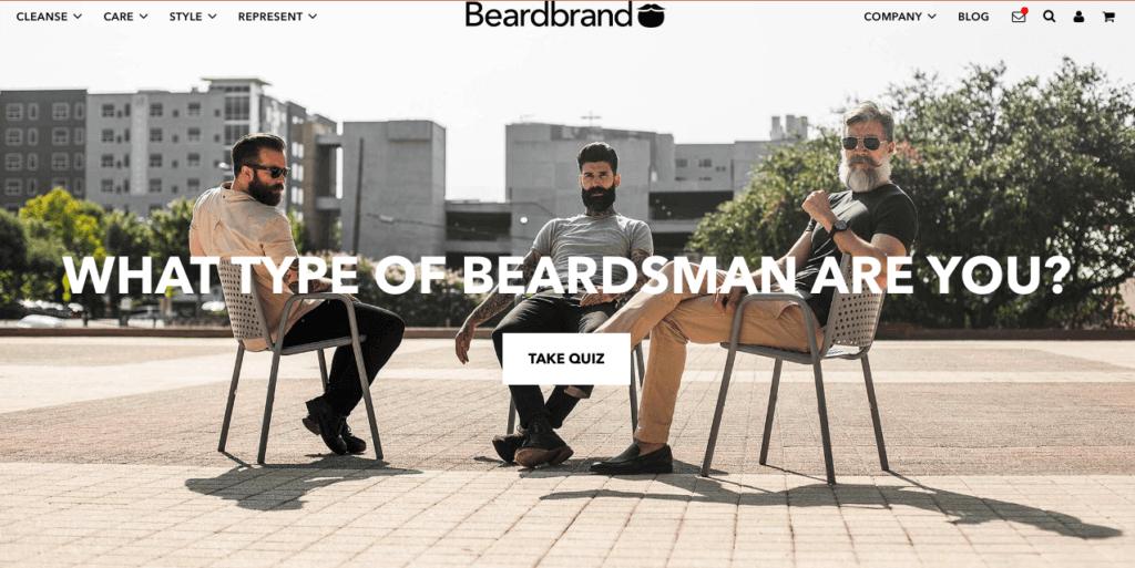 Beardbrand Shopify Store