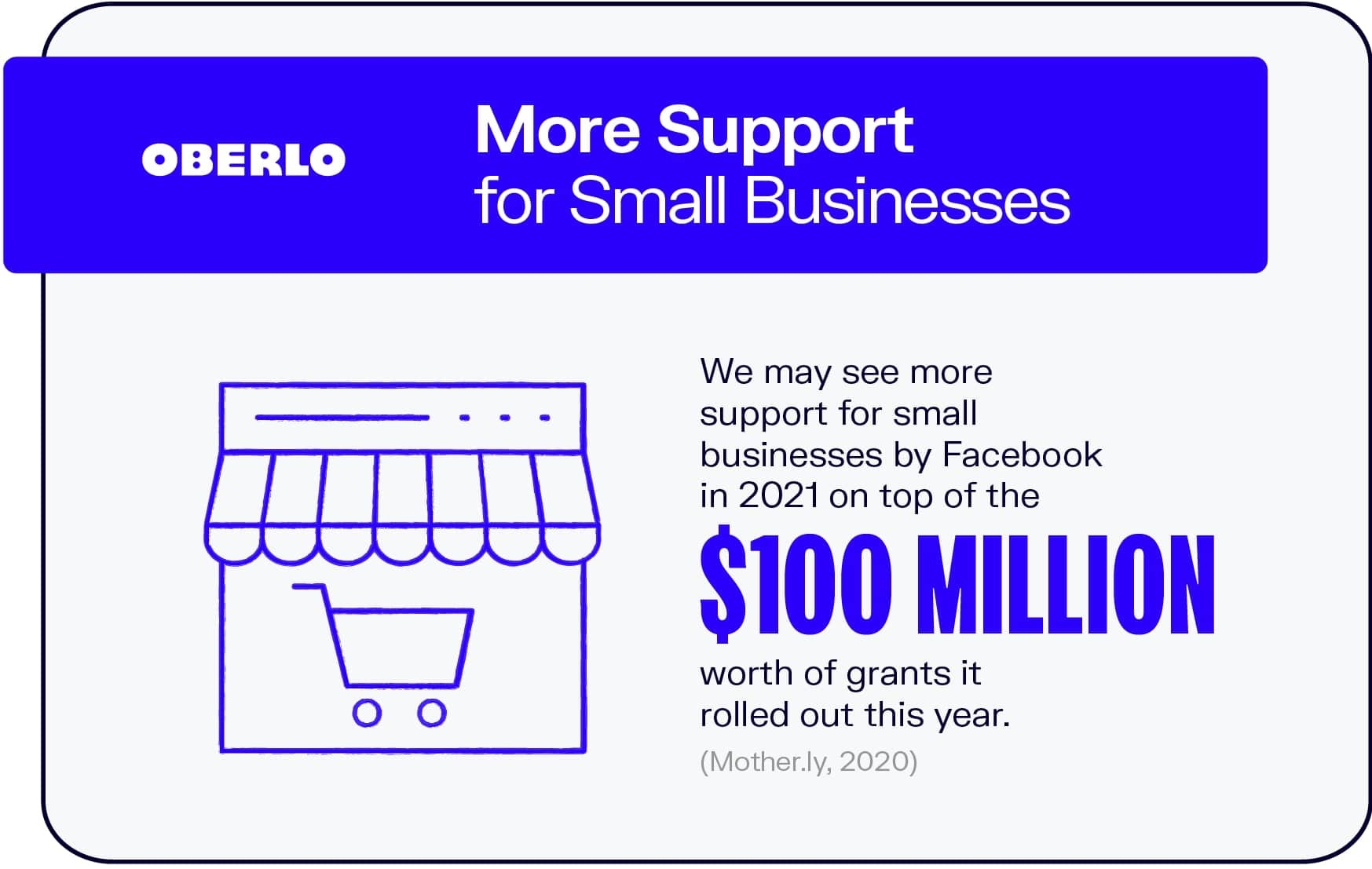 More Support for Small Businesses
