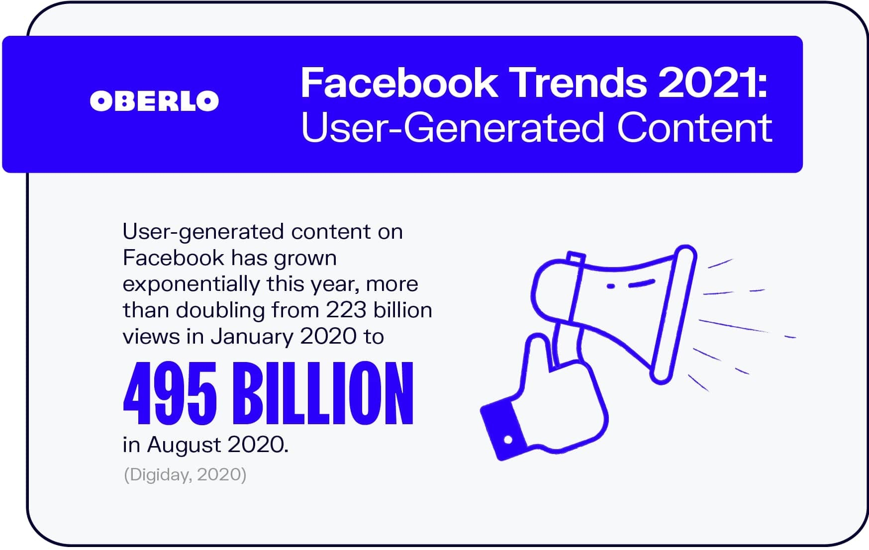 Facebook Trends 2021: User-Generated Content
