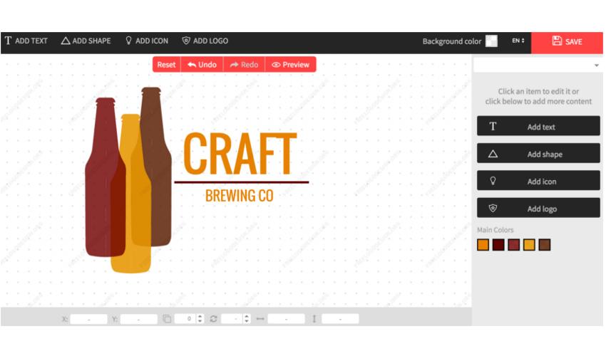 creare un logo