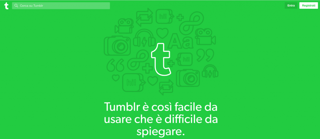 tumblr: strumenti per creare un blog