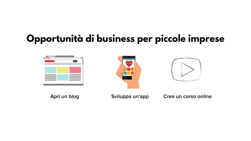 opportunità di business piccole imprese