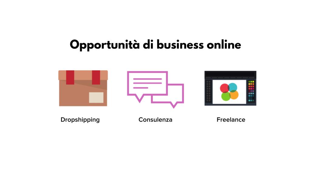 opportunità di business online