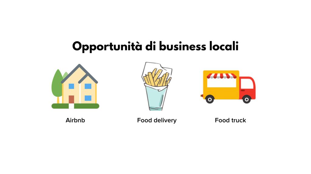 opportunità di business locali