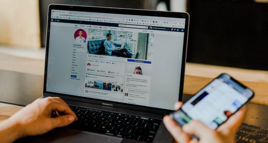 Análise das redes sociais dos leads
