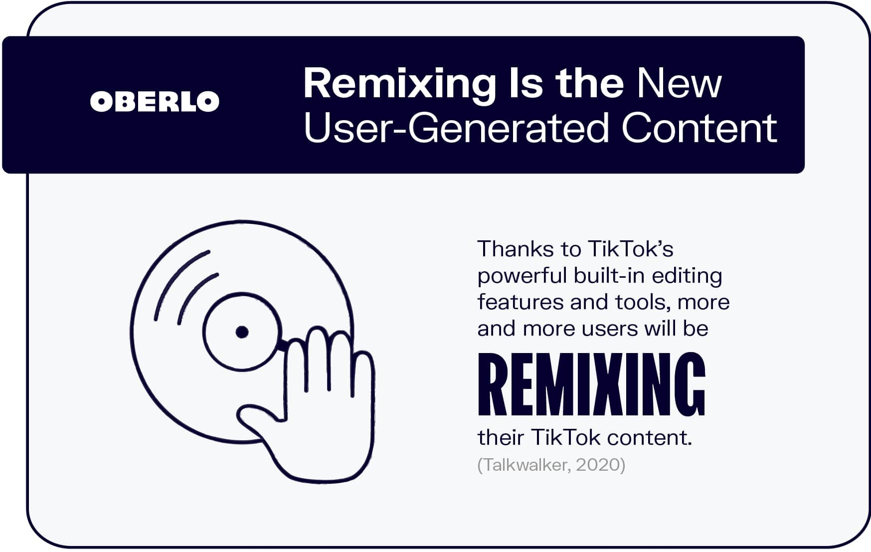 Remixing Is the New User-Generated Content