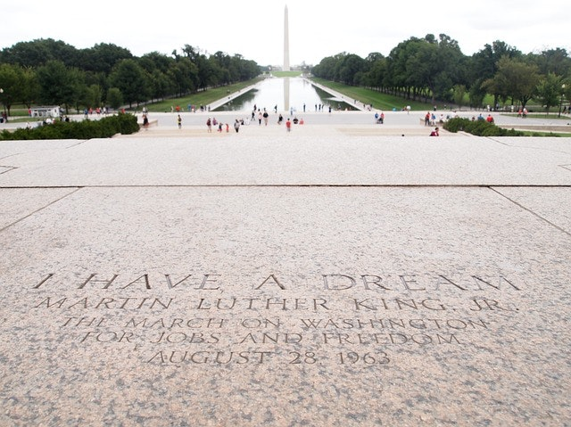 martin luther king monumento leader