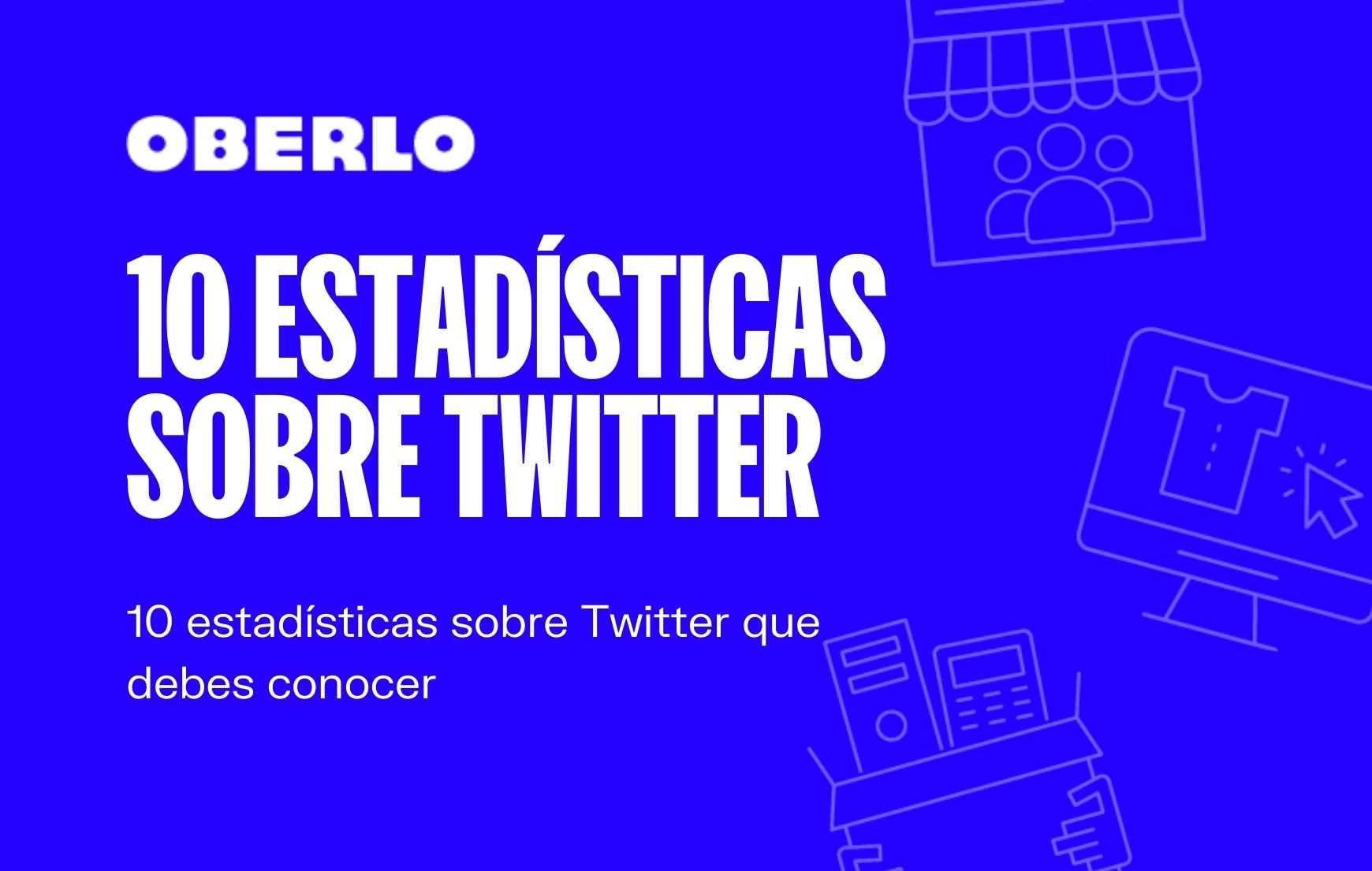 Estadísticas Twitter 2020