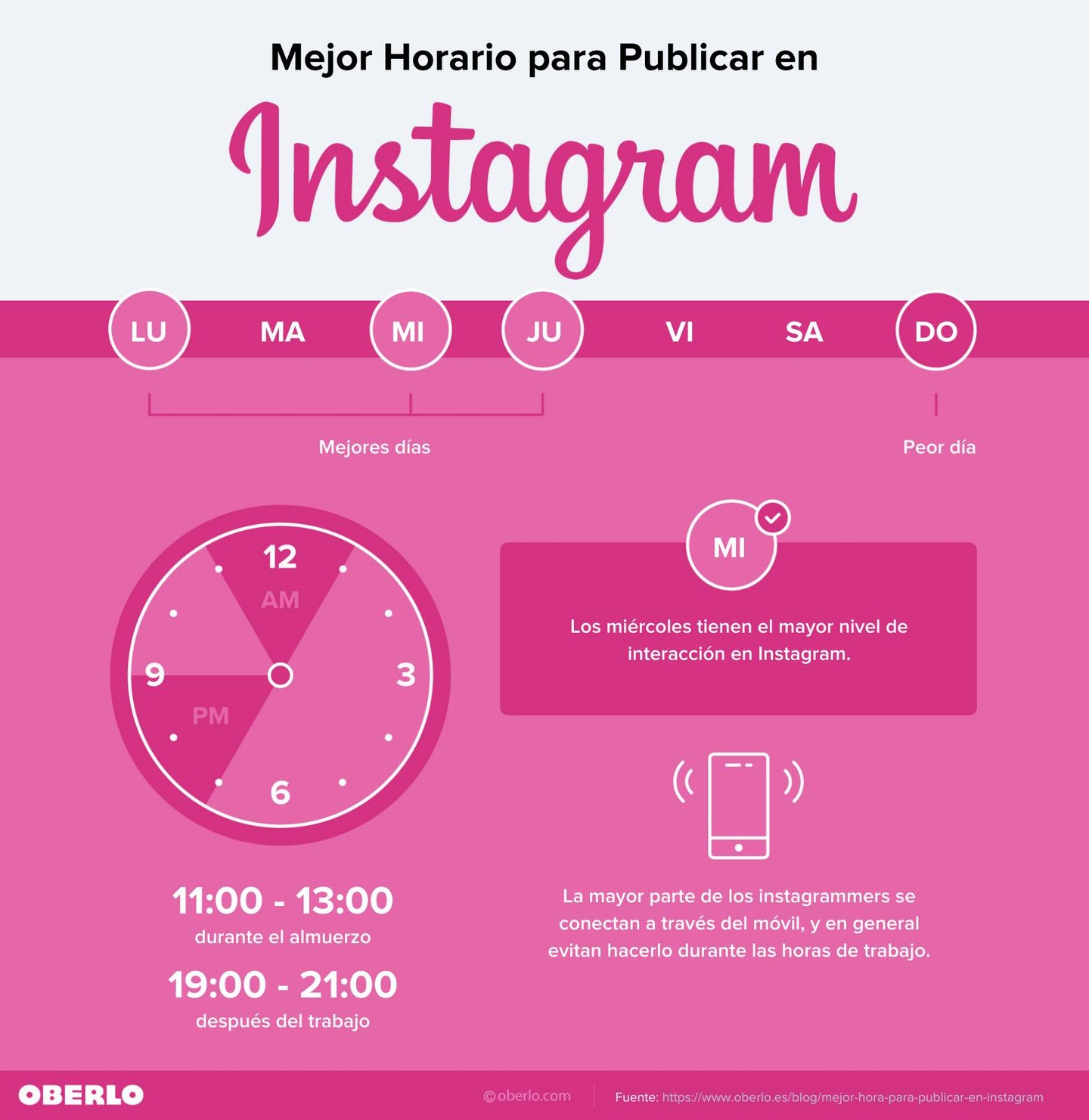 horas instagram