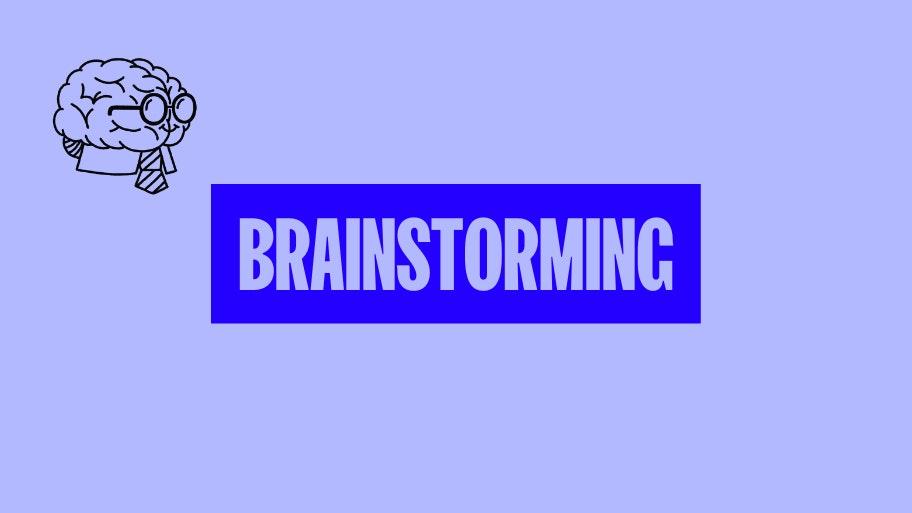 cosa vendere online? Fase 1: brainstorming