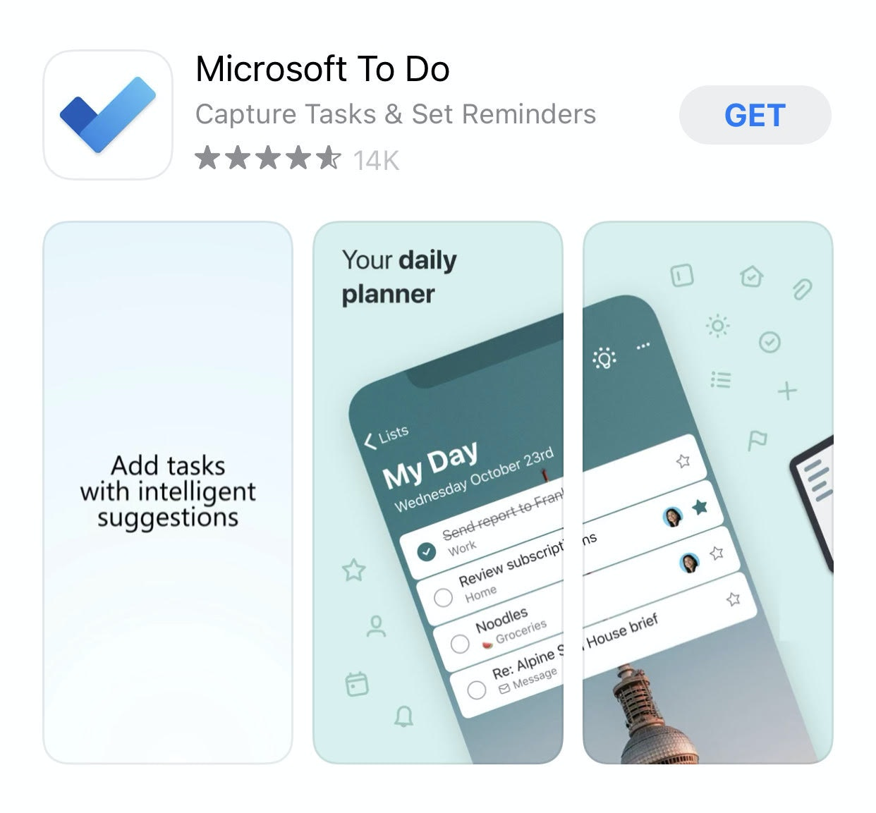 reminder apps for smartphone