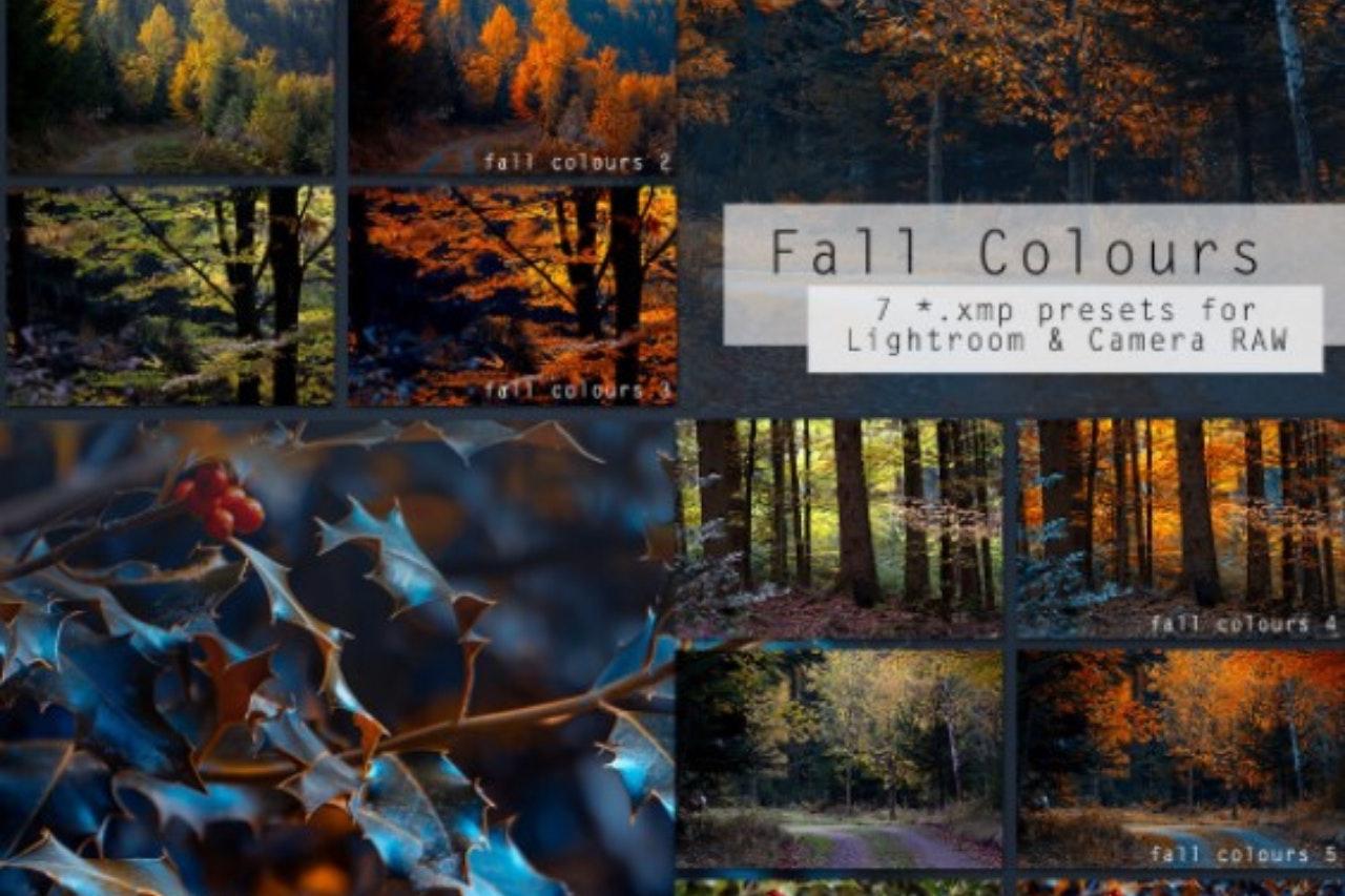 Presets gratuitos: Fall Colours
