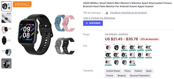 O que vender para ganhar dinheiro: smartwatch