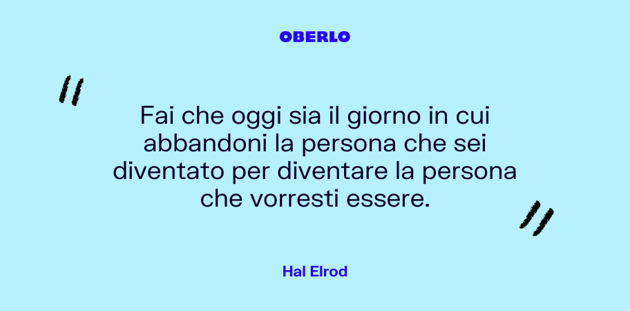 citazione hal elrod