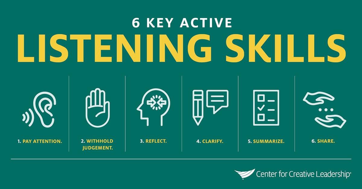 key listening skills
