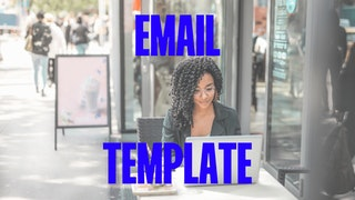 email template per ecommerce