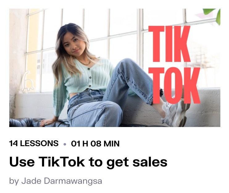 TikTok course
