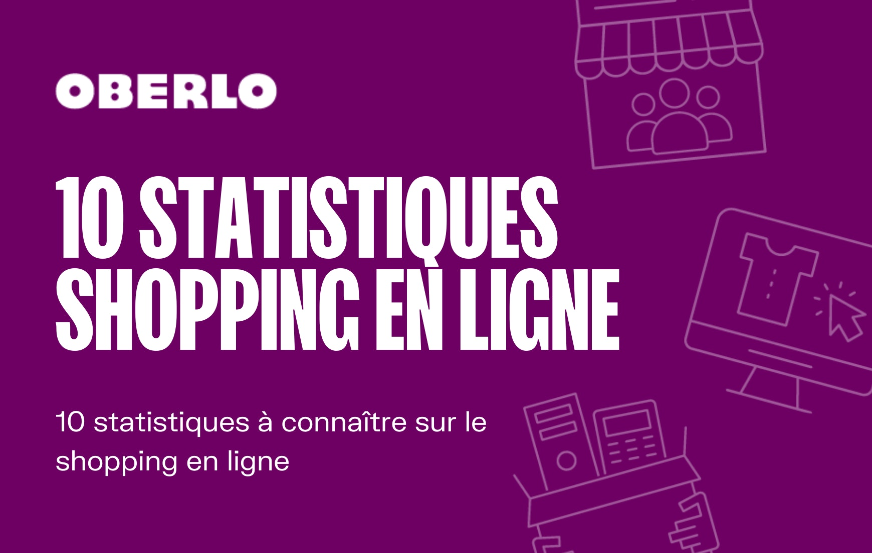 Shopping en ligne chiffres 2020 2021