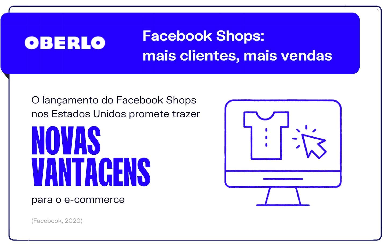Facebook shops: mais clientes, mais vendas