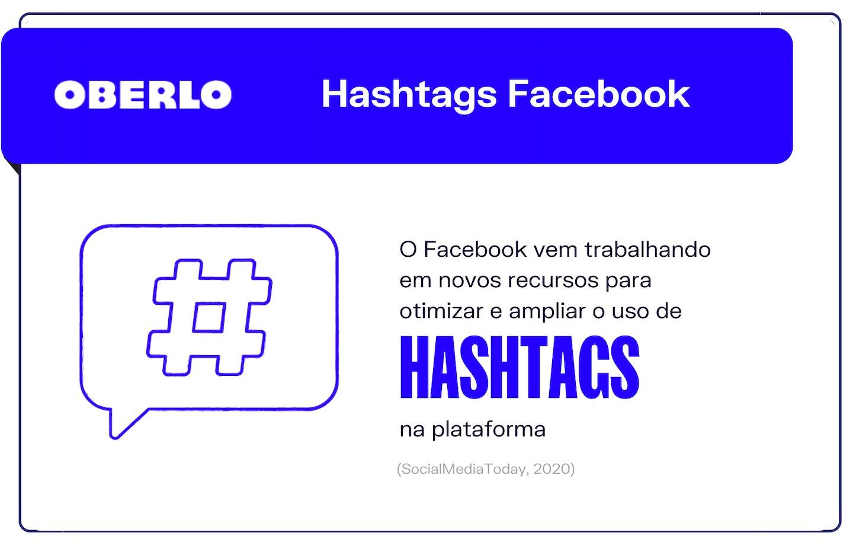 Hashtags Facebook: as últimas tendências Facebook
