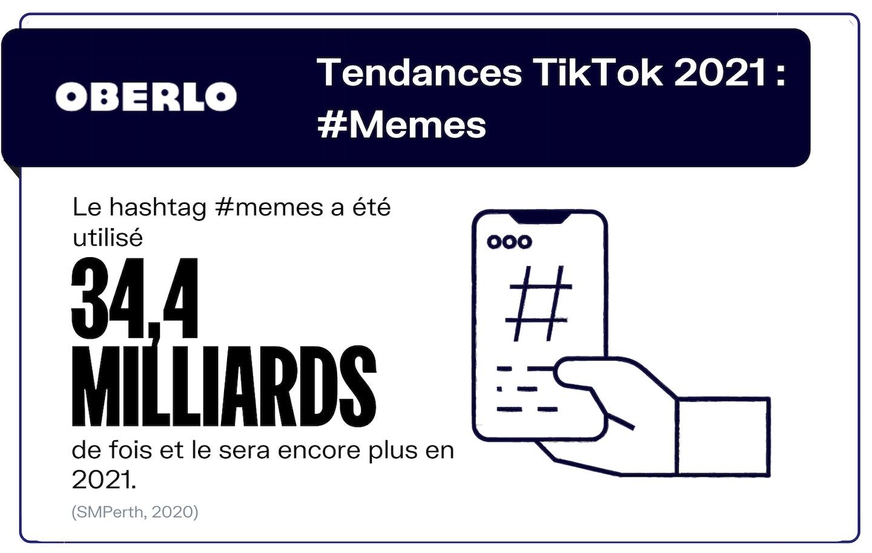 Tendance Tik Tok mèmes