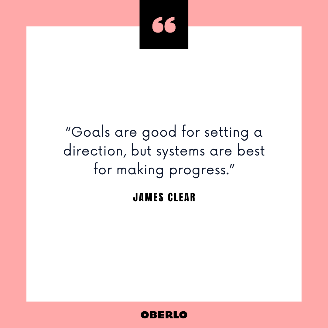 How to Keep New Year's Resolutions: James Clear Quote